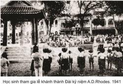 Bia Công Thần Alexandre De Rhodes Do Pháp Dựng Tại Hà Nội Năm 1941